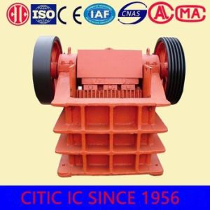 Chinese Famous Brand High Efficiency PE Series Hydraulic Jaw Crusher pictures & photos