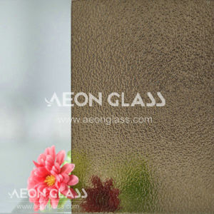 3mm, 3.5mm, 4mm, 5mm, 6mm and 8mm Patterned Glass, Figured Glass, Bronze Nashiji Glass pictures & photos