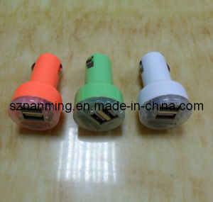 2 Port USB Car Charger (NM-USB-649) pictures & photos