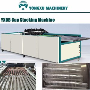 Yxdb Plastic Cup Stacking Machine/Cup Stacker/Automatic Cup Stacking Line/Stacking Machine Group with Plastic Cup Machine/Thermoforming & Stacking in One Line pictures & photos