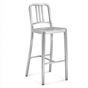 Aluminum Navy Outdoor Bar Stool (LD-OC00018)