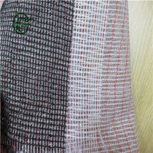 Sb3210 Woven Fabric PP Secondary Backing for Artificial Turf (Brown) pictures & photos