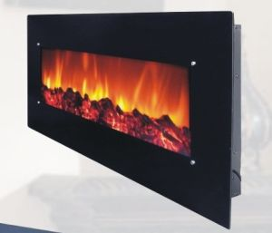 Wall-Mounted Electric Fireplace (58-S)