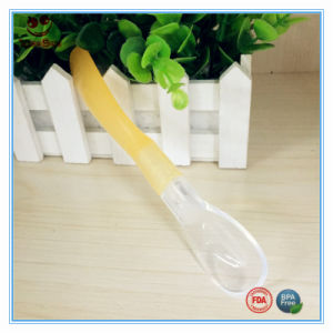 Silicone Round Head Soup Spoon Eco Friendly pictures & photos