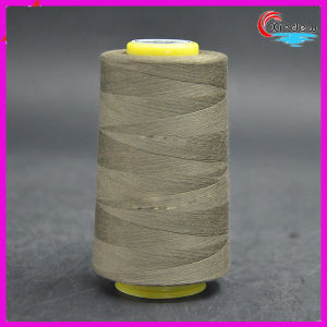 Cotton Poly Core Sewing Thread for Jeans pictures & photos