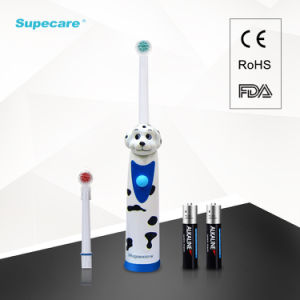 Cartoon Dog Kids Electric Toothbrush Sonic Toothbrush with Refill Brushhead Wy839-D pictures & photos