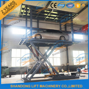 Hydraulic Double Platform Scissor Car Auto Lift with Ce pictures & photos