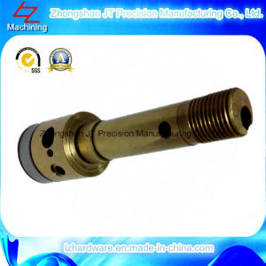 Brass CNC Turning Machining for Shaft (LZ105)