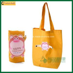 Snap Button Cute Foldable Shopping Bag Folding Bag (TP-FB202) pictures & photos