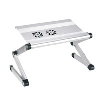 "Laptop Desk Alu Panel Foldable Height Adjustment Upto 17"" (T2A) pictures & photos"