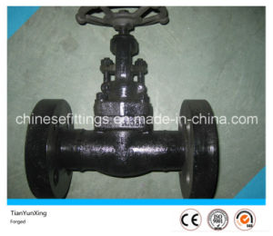 1500lbs API602 Carbon Steel Flanged Forged Gate Valve pictures & photos