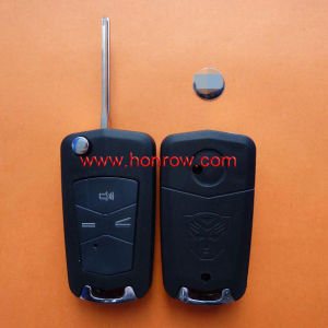 3 Button Modified Folding Remote Key Blank for Toyota