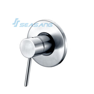 Stainless Steel Bathroom Wall Mounted Shower Valve for Pressure Balance pictures & photos