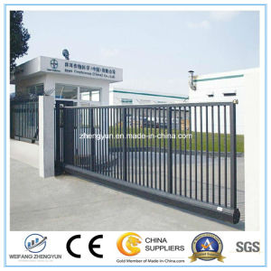 Sliding Metal Gates Modern Metal Gates and Fences pictures & photos