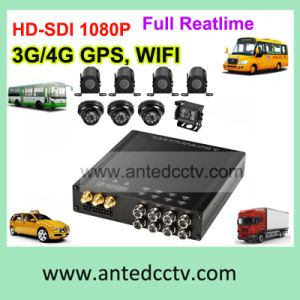 H. 264 HDD 8CH Mdvr Vehicle Surveillance System with GPS Tracking 3G 4G WiFi pictures & photos