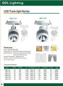 24W COB Sharp Track Light Qdl-317