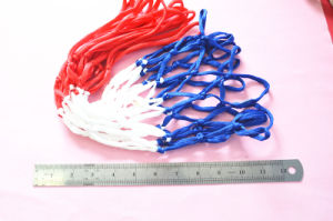 All-Weather Basketball Net (Red/White/Blue) pictures & photos