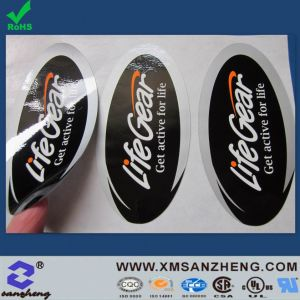 Custom 3m Adhesive Glossy Chemical Resistant Tear Resistant CSA Approved Stickers (SZ3046) pictures & photos