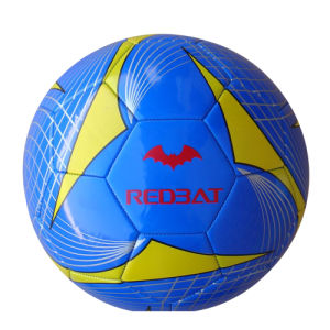 Machine Stitched Shiny PVC Football/Soccer Ball (XLFB-020)