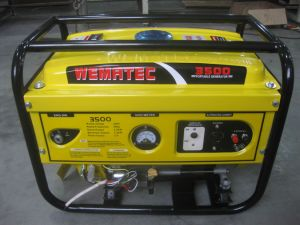 2.2kw Electric Sound-Proof Power Wema Gasoline Generator