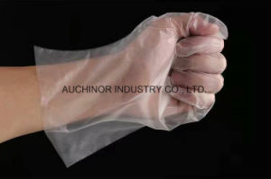Anti-Slip and Anti-Sticking CPE Glove pictures & photos
