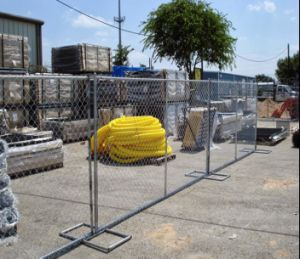 6foot*10foot Portable Temporary Construction Chain Link Fence pictures & photos