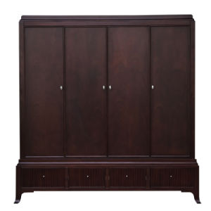 Contemporary Solid Wood Wardrobe Era