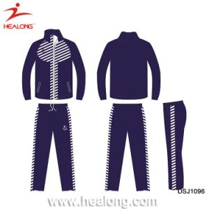 Wholesale Man Custom Fitted Sportswear Plain Gym Waterproof Tracksuit pictures & photos