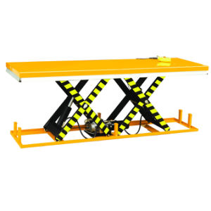 Paralleled Tandem Scissors Electric Hydraulic Lift Table pictures & photos