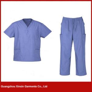 Custom Design Hospital Scrubs Uniform for Medical School Student (H24) pictures & photos