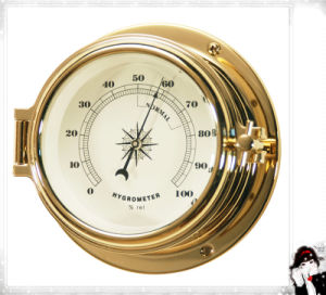 Brass Case Hygrometer 0-100%Rh Dial 81mm pictures & photos