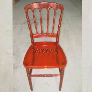 Red Clear Resin Napoleon Chairs pictures & photos