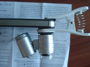 LED Pocket Microscope pictures & photos