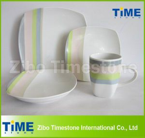 White Porcelain Square Home Trends Dinnerware pictures & photos