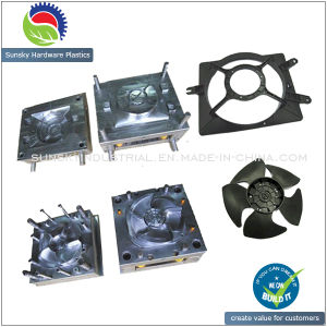 Plastic Injection Radiator Fan Mould / Exhaust Fan Molding/Auto Fan Mold pictures & photos