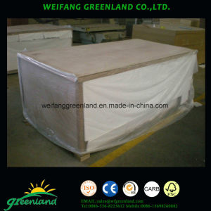 2.2mm Slot Plywood with Paper Film for Decoration pictures & photos