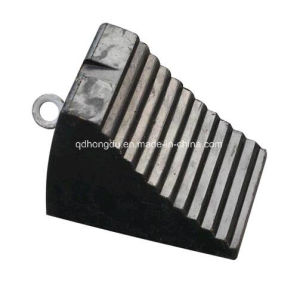 High Quality Rubber Safety Wheel Chock pictures & photos
