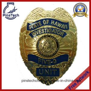 Five-0 Investigator Badge, Custom 3D Police Badge pictures & photos