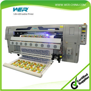 LED UV Belt Roll to Roll Printer for Lether, Soft Film, Wall Paper, Banner Flex, PVC Vinly pictures & photos