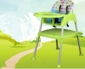 En71 Certificated Plastic Chair High Baby Chair Dining Chair/Highchair pictures & photos