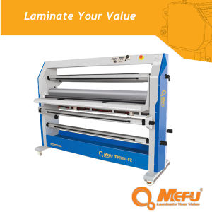 MF1700-F2 Double Side Roll to Roll Hot Lamination Machine pictures & photos