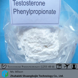 99% High Purity Testosterone Phenylpropionate Bodybuilding 1255-49-8 pictures & photos