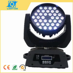 36X10W Quad in One LED Zoom Wash Moving Head Stage Light pictures & photos