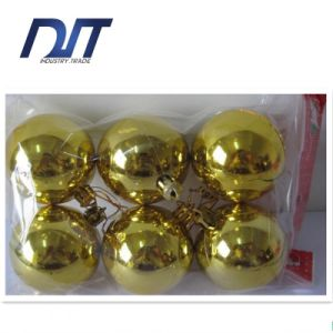 Plating Bright Christmas Balls Christmas Decorations Christmas Tree Ornaments pictures & photos