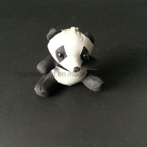 Cute Plush Panda Bear Stuffed Reflective Safety Keychain pictures & photos