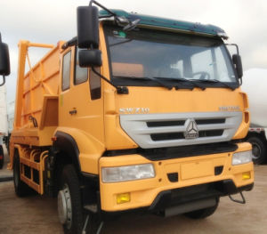 SWZ Arm Type Garbage Truck 8T (ZZ3161M4011W) pictures & photos