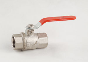 Brass Nickle Plated Thread Ball Valve (YD-BV81)