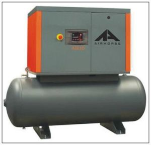 Low Price Ah-7 Screw Air Compressor (with tank) pictures & photos