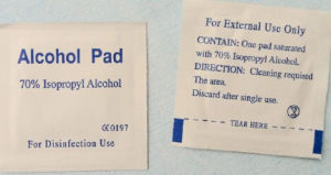 Medical Sterile Alcohol Pad pictures & photos