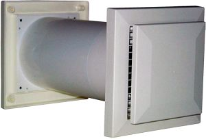 Fresh Air Ventilator with Round Duct